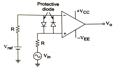 opamp as comparator